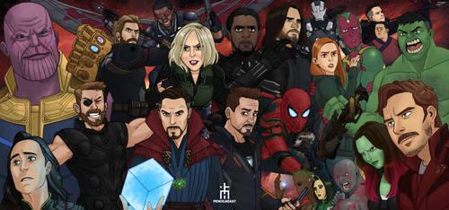 Infinity War by pencilHead7