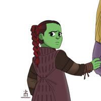 Lil Gamora by pencilHead7