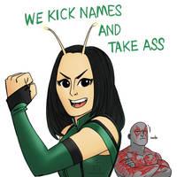 Kick Names And Take Ass by pencilHead7