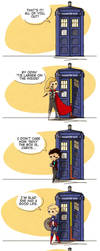 Doctor Who/Avengers mashup by flatbear