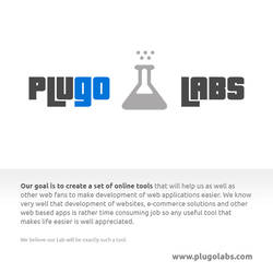 PlugoLabs - our webdesigner's playground by Tydlinka