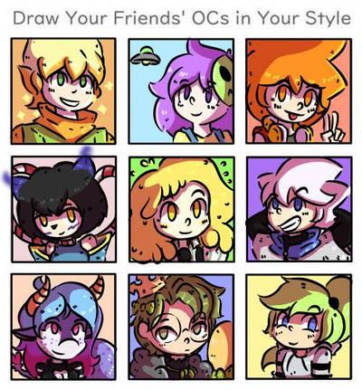 Draw you friends - DiTper by leowaldox