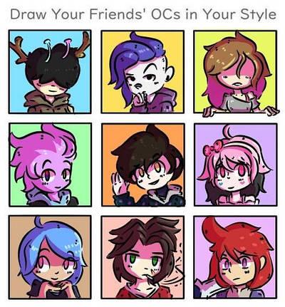 draw your friends 2 - DiTper  by leowaldox