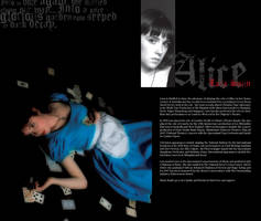 Alice The Play. Alice Profile by elphin-art