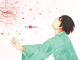 Pray for Japan... by DBZMieze