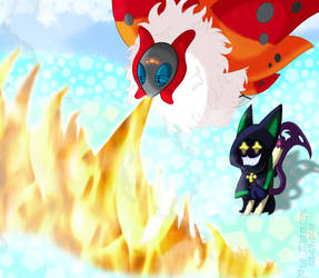 PKMNC - Let There Be... HEAT!! by Powerwing-Amber