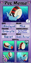 PKMNA - Meet NeoSquid the Omanyte! by Powerwing-Amber