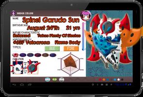PKMN Armonia - 'Spinny' Spinel Garudo Sun App by Powerwing-Amber