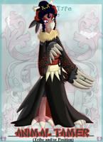 PKMNA - Animal Tamer Mandibuzz Morgana by Powerwing-Amber