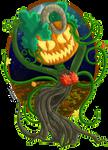 PKMN Skies - Monster Mix - Harvest Dryad Khepri by Powerwing-Amber