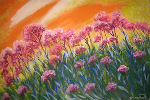 Under A Tangerine Sky by juliarita