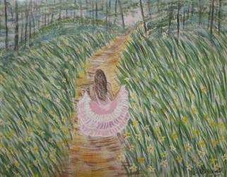 Running The Path Of Joy by juliarita