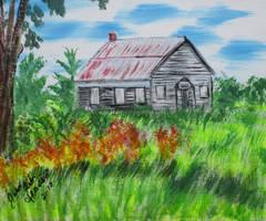 Old Schoolhouse by juliarita