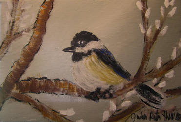 Chickadee by juliarita