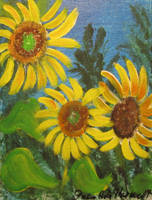 Sunflower Series 3 by juliarita