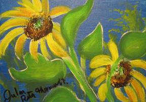 Sunflower Series 5 by juliarita