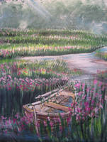 Floral Cradle by juliarita