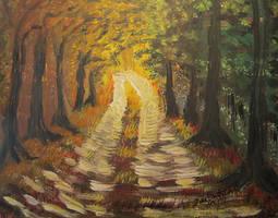 My Road Lit by juliarita
