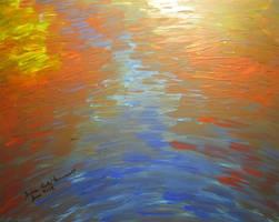 River Reflection by juliarita