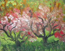 Wild Apple Trees by juliarita