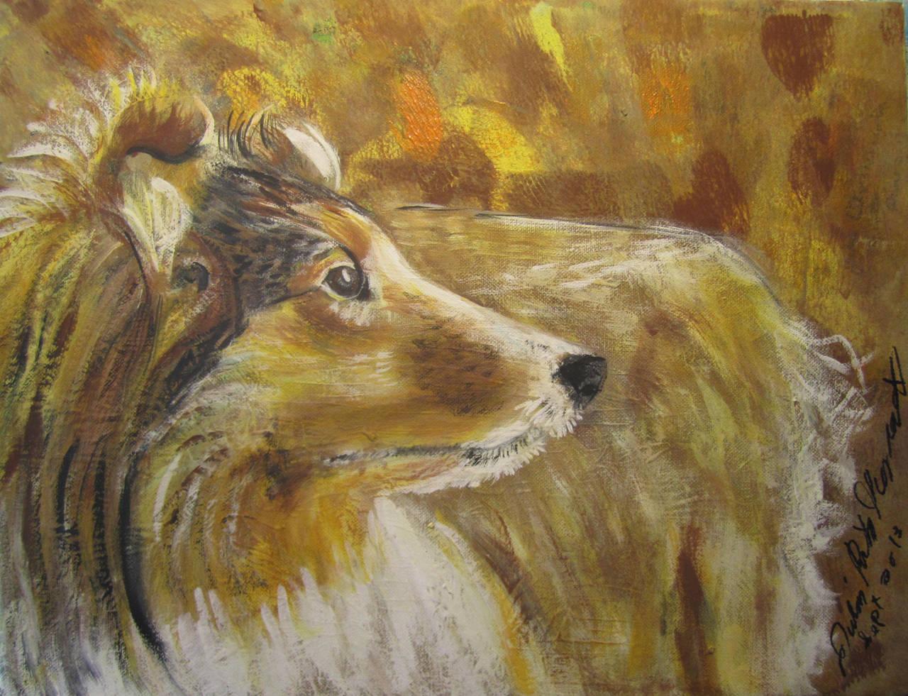 Joana's Dog by juliarita