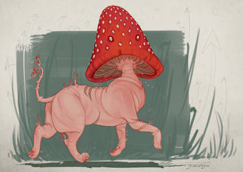 Mushie Dog by Iguanodragon