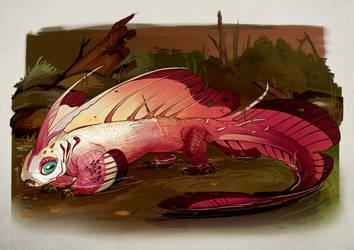 Drago Dartfish by Iguanodragon