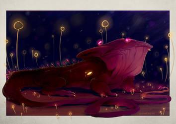 Drago Gulper Eel by Iguanodragon