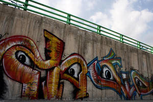 persian Arabic letter Graff by Kolahstudio
