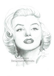 Marilyn Monroe - Completed by ZoeJackson21
