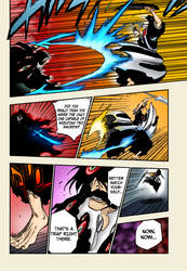 Ichigo vs Yhwach (Bleach Chapter 677) by iZN1337