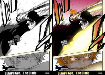 Yhwach HIT with Getsuga (Bleach Chapter 684) by iZN1337