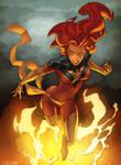 dark Phoenix by RexLokus