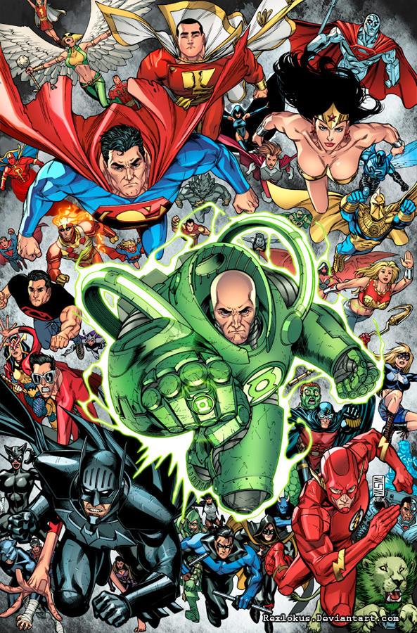 DC Universe Online Legends 25- Cover by RexLokus