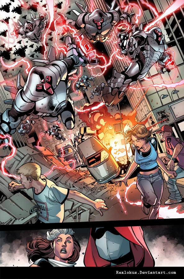 Ultimate Comics X-Men #6 -4 by RexLokus