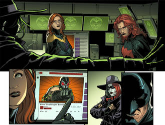 Injustice Y5 CH6 Where is Bane? by RexLokus