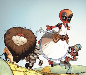 Deadpool Dreams :3 by RexLokus