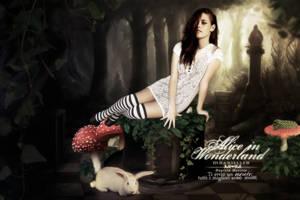 Alice in Wonderland by itsdanielle91