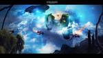 Flying Islands by itsdanielle91