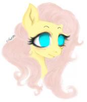 FlutterShy by Cohr3n