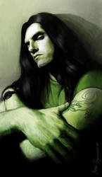 Peter Steele, Type'O'Negative by Moolver-sin