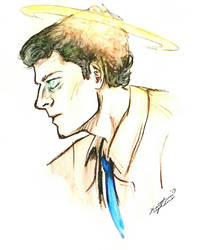 Angel Castiel by TheBeautifulSniper
