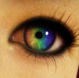 Rainbow Eye Manip by ColorinSilence