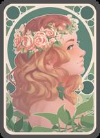 Flowercrown by Niruja