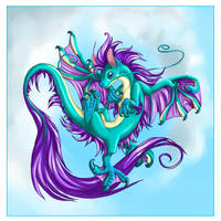 Four-winged Dragon by homa-Nix