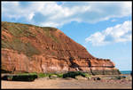 The Epic Cliffs Of Exmouth by drumcrazy779