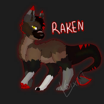 Raken Being A Sas by shadowpuppy404