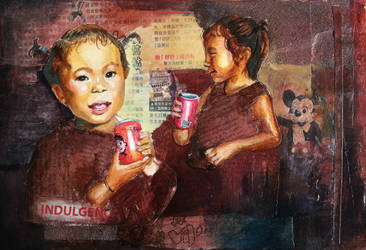 Wangzai (journal page) by SamanthaLi