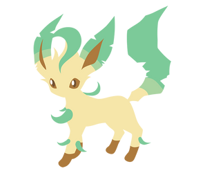 Bareon 470 Leafeon by Senzune