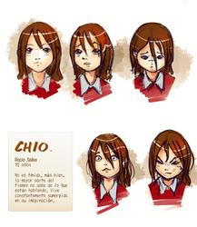 CIO Character exp. sheet: rocio by ghevan